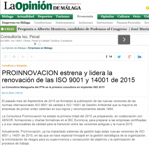 NOTICIA LA OPINION DIC2015
